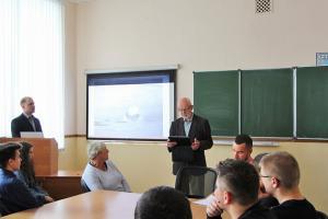 Британский исследователь Полярных конвоев прочитал лекцию для студентов МАГУ